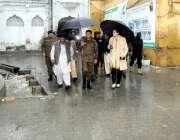 حسن آبدال: ڈی پی او اٹک نے گورداورہ سری پنجا کا دورہ کیا ، سیکیورٹی کے ..