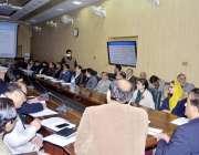 اٹک : مشیر وزیراعظم برائے موسمیاتی تبدیلی ملک امین اسلم ڈی سی کانفرنس ..