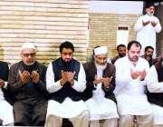 کراچی: وزیر مملکت سیفرن اینڈ نارکوٹکس کنٹرول شہریار آفریدی جماعت اسلامی ..