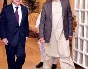 اسلام آباد: وزیر اعظم عمران خان کی جانب سے وزیر اعظم آفس میں اقوام متحدہ ..