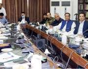 لاہور:صوبائی وزیر خزانہ مخدوم ہاشم جواں بخت وزراء کمیٹی برائے سموگ ..