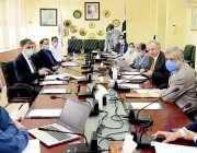 اسلام آباد مشیرتجارت ڈاکٹر عبدالرزاق داود ٹیرف پالیسی بورڈ کے اجلاس ..