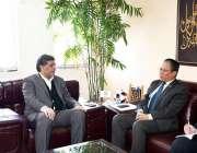اسلام آباد: ملائشیا کے ہائی کمشنر اکرام بن محمد ابراہیم نے سیکرٹری ..