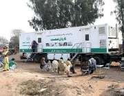 ملتان: پنجاب ہیلتھ سہولیات  حمید پور کنورہ کے زیر اہتمام موبائل ہیلتھ ..