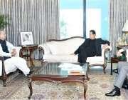 اسلام آباد: صدر مملکت ڈاکٹر عارف علوی سے وزیراعظم عمران خان ملاقات ..