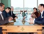 اسلام آباد: ایران کے سفارتخانہ کے سفیر سید محمد علی حسینی نے وفاقی وزیر ..