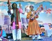 بہاولپور: بہاول کلب فیسٹیول بہاولپور میں 15 ویں چولستان ڈیزرٹ جیپ ریلی ..