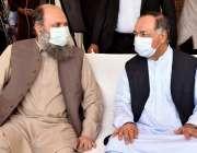 گورنر بلوچستان جسٹس (ر) امان اللہ خان یاسین زئی، وزیراعلی بلوچستان ..
