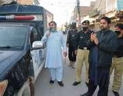 بنوں، پریس کلب صدر محمد عالم خان کورونا وائرس سے نمٹنے کیلئے لاک ڈائون ..