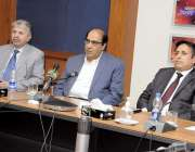 اسلام آباد، پاکستان ٹیلی وژن کے مینجنگ ڈائریکٹر عامر منظور تربیتی ..