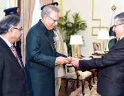 اسلام آباد: تیونس کے سفیر نامزد ، بورنہ ایل کامل ایوان صدر میں صدر ڈاکٹر ..