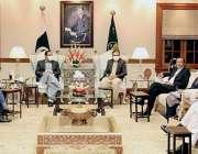 لاہور، وزیراعلی پنجاب عثمان بزدار سے پاکستان اکنامک کوریڈور اتھارٹی ..