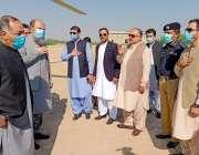 ڈیرہ اللہ یار، وزیراعلی بلوچستان جام کمال، گورنر بلوچستان امان اللہ ..