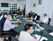 اسلام آباد: محمد حماد اظہر وزیر انڈسٹریز اینڈ پروڈکشن برائے 'شوگر ملز ..