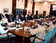 کراچی، وزیراعلی سندھ مراد علی شاہ کی صدارت میں صوبائی کوآرڈینیشن کمیٹی ..