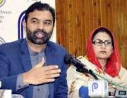 پشاور: وزیراعلی کے مشیر برائے انفارمیشن اینڈ ٹیکنالوجی ضیاء اللہ بنگش ..