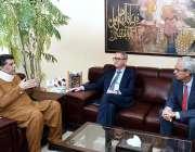 اسلام آباد: سکریٹری تجارت ، سردار احمد نواز سکھیرا نے ایچ ای سے ملاقات ..