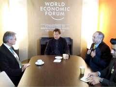 DAVOS:Joe Kaeser, CEO of Siemens called on Prime Minister Imran Khan on the sidelines of WEF Annual Meeting 2020.