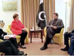 DAVOS:Ms. Kristalina Georgieva, President IMF called on Prime Minister Imran Khan on the sidelines of WEF Annual Meeting 2020.