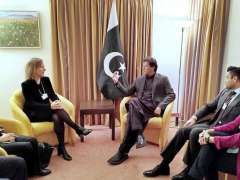 DAVOS:Ms. Susan Wojcicki, CEO of YouTube called on Prime Minister Imran Khan on the sidelines of WEF Annual Meeting 2020.