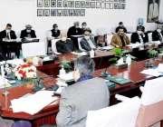 اسلام آباد، وفاقی وزیر تعلیم و قومی ورثہ شفقت محمود اعلی سطحی اجلاس ..