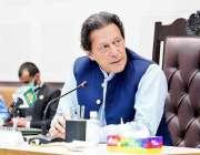 اسلام آباد، وزیراعظم عمران خان کو سیف سٹی ہیڈکوارٹرز کے دورے کے موقع ..
