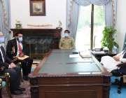 اسلام آباد، وزیراعظم عمران خان سے ٹویوٹا موٹرز کارپوریشن کے نائب چئیرمین ..