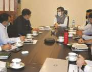 پشاور، صوبائی وزیر تعلیم شہرام ترکئی کو بورڈ امتحانی نظام کے حوالے ..
