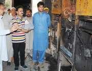 سوات، چئیرمین ڈیڈیک فضل حکیم خان یوسفزئی مینگورہ گریڈ سٹیشن میں بحالی ..