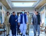 اسلام آباد، وزیراعظم عمران خان وفاقی کابینہ کے اجلاس میں شرکت کیلئے ..
