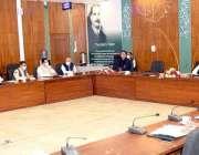 اسلام آباد، وفاقی وزیر خزانہ شوکت ترین اقتصادی رابطہ کمیٹی کی ایگزیکٹو ..