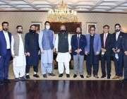 اسلام آباد، صدر مملکت ڈاکٹر عارف علوی کا کشمیر پریمئیر لیگ کی انتظامیہ ..