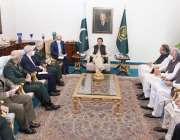 اسلام آباد، وزیراعظم عمران خان سے ایران کے چیف آف جنرل سٹاف میجر جنرل ..