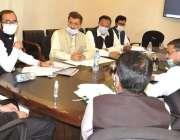 پشاور، صوبائی وزیر تعلیم شہرام خان ترکئی تعلیمی بورڈ سربراہان کے اجلاس ..