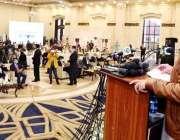 لاہور، وزیراعلی پنجاب سردار عثمان بزدار ٹائیفائیڈ کے حفاظتی ٹیکے لگانے ..