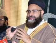 لاہور، وزیراعظم کے نمائندہ خصوصی اور چئیرمین پاکستان علماء کونسل حافظ ..