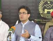 پشاور، وزیراعلی خیبرپختونخوا کے معاون خصوصی برائے اطلاعات و اعلی تعلیم ..