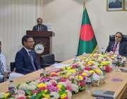 ڈھاکہ، پاکستانی ہائی کمشنر عمران احمد کو کمیلا ایکسپورٹ پروموشن زون ..