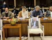 اسلام آباد، مسلم لیگ ن کی پارلیمانی پارٹی کے مشترکہ اجلاس سے راجہ ظفر ..