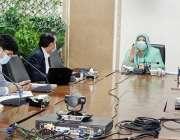 لاہور، صوبائی وزیر صحت ڈاکٹر یاسمین راشد محکمہ پرائمری اینڈ سیکنڈری ..