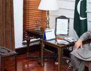 اسلام آباد، سپیکر قومی اسمبلی اسد قیصر سے ڈپٹی سپیکر بلوچستان اسمبلی ..