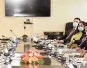 اسلام آباد، وفاقی وزیر خزانہ شوکت ترین  ورلڈ بینک نائب صدر ساؤتھ ایشین ..