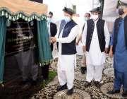 گلگت، وزیراعظم عمران خان گلگت بلتستان ڈویلپمنٹ پلان کا افتتاح کر رہے ..