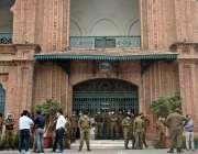 لاہور، سپریم کورٹ کے فیصلے کے بعد بلدیاتی نمائندوں کی جانب سے اختیارات ..