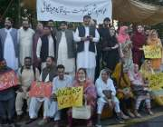 اسلام آباد، مسلم لیگ ن کے کارکن مہنگائی کیخلاف قومی اسمبلی کے باہر ..