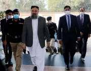 لاہور، وزیراعلی بلوچستان جام کمال خان کی پنجاب سیف سٹیز اتھارٹی آمد، ..
