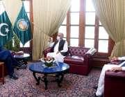 پشاور، وزیراعظم عمران خان سے گورنر خیبرپختونخوا شاہ فرمان اور وزیراعلی ..