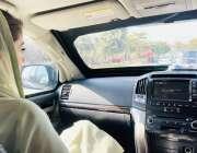 اسلام آباد، نائب صدر مسلم لیگ ن مریم نواز شریف ڈی چوک میں لاپتہ افراد ..