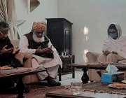 اسلام آباد، جمعیت علمائے اسلام ف کے سربراہ مولانا فضل الرحمن ڈاکٹر ..