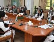 پشاور، وزیراعلی خیبرپختونخوا محمود خان گڈ گورننس سٹریٹجی سے متعلق ..